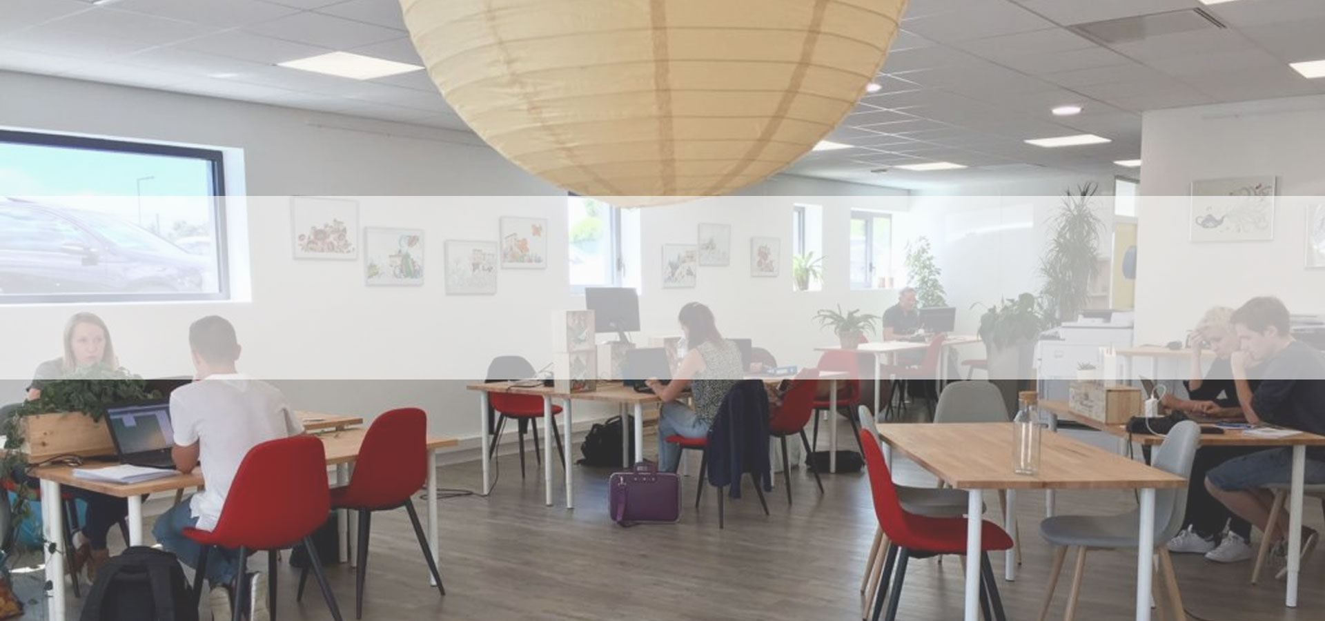 Espace de coworking O'Village à St Just St Rambert