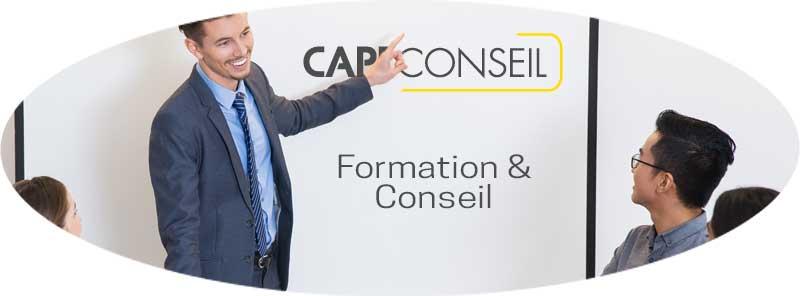 Contacter CAPE Conseil, organisme de formation agréé Datadock Saint Etienne